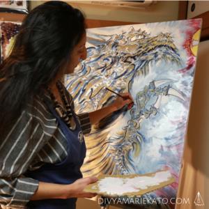 Divya Marie Kato FRSA - Artist in Tokyo
