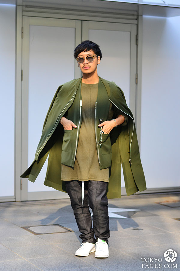 Shades of Olive Green