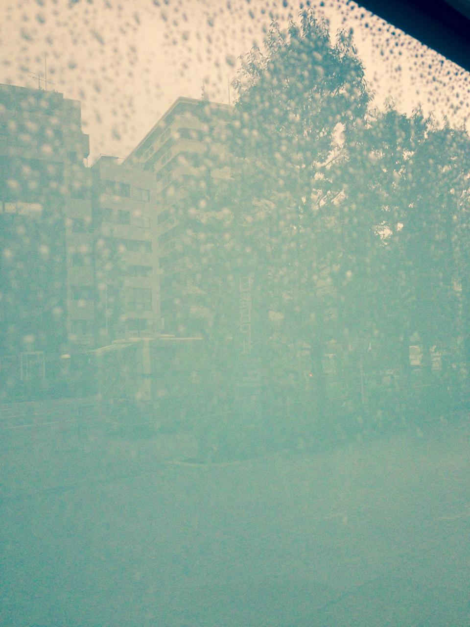 Une balade de la pluie