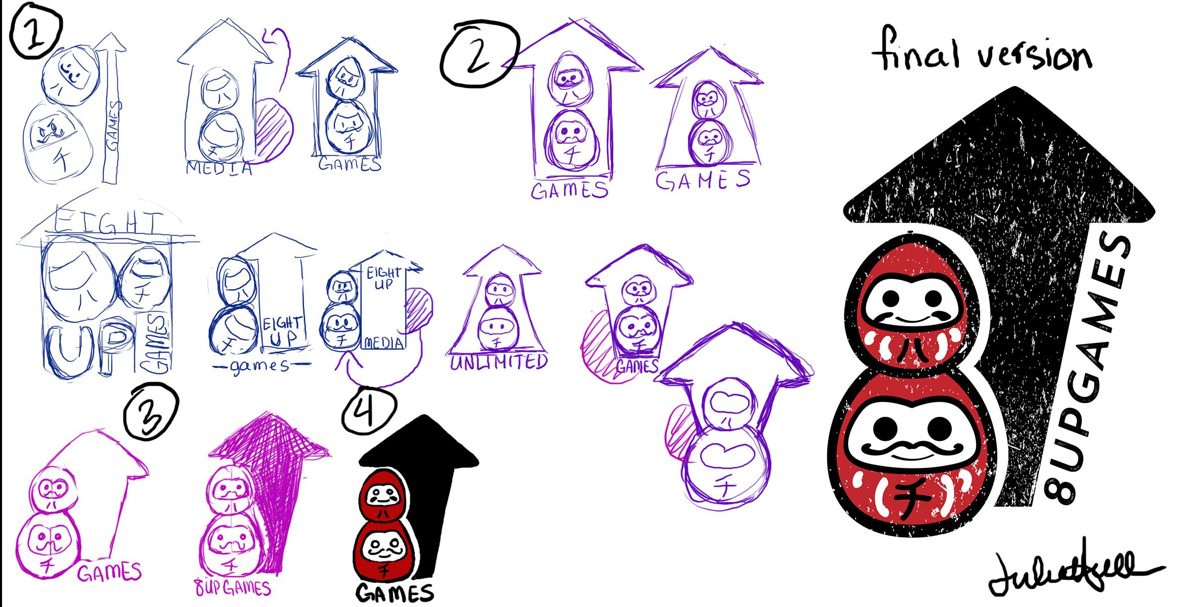 8up Games Logo by Jay Hicks | Canvas Tokyo - Creative Platform