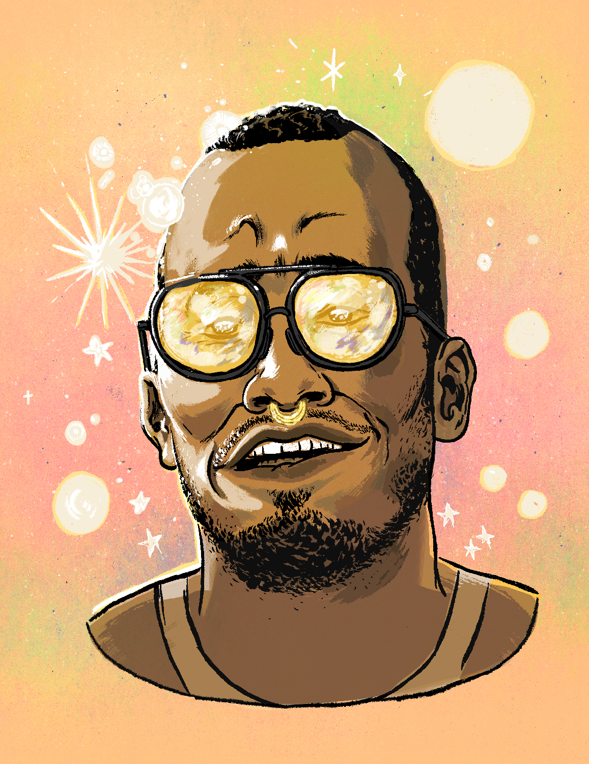 Anderson .Paak - Portrait illustration