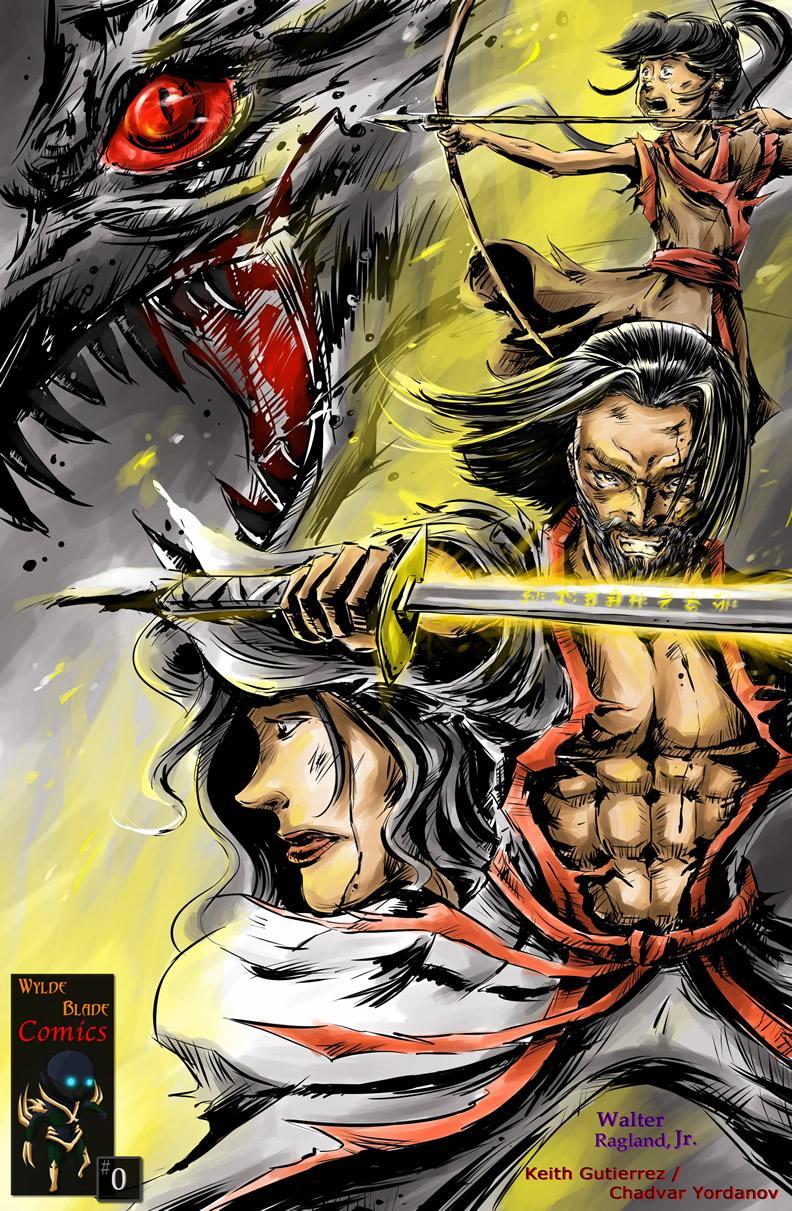 Original Comic Series Cover