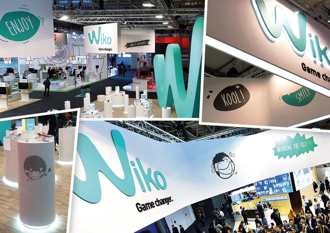 Sticker design - Exhibition stand