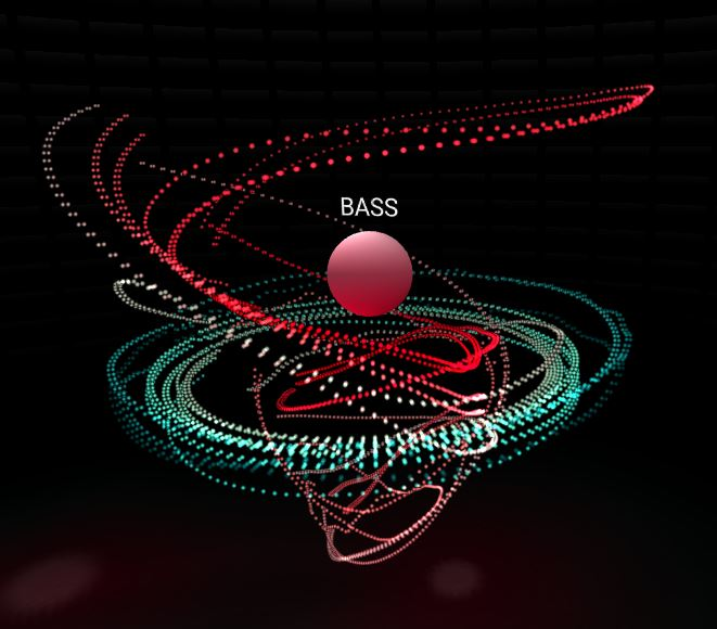 Spatial Music Visualizer