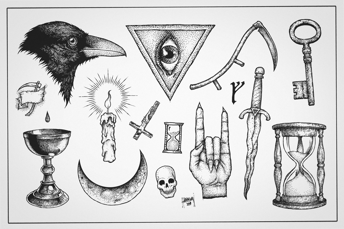 Tattoo Flash Sheet (2013)
