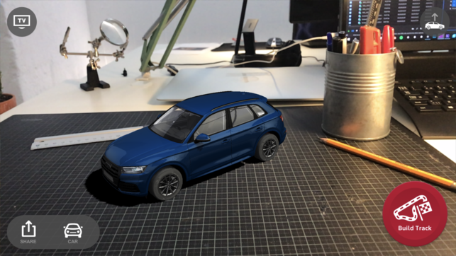 Audi AR Coaster