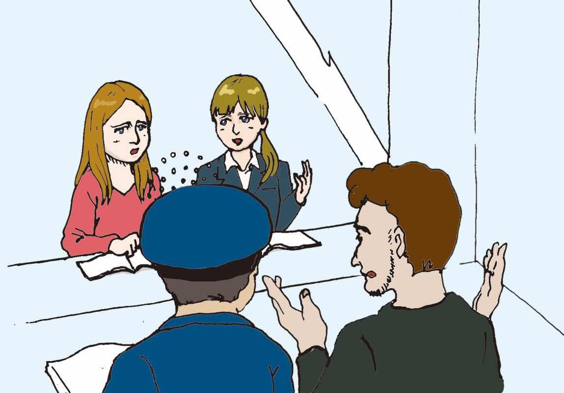 INTERPRETATION AT POLICE STATION