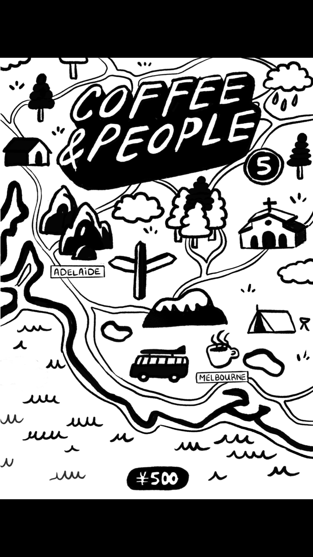 Coffee & People issue 5 (zine)