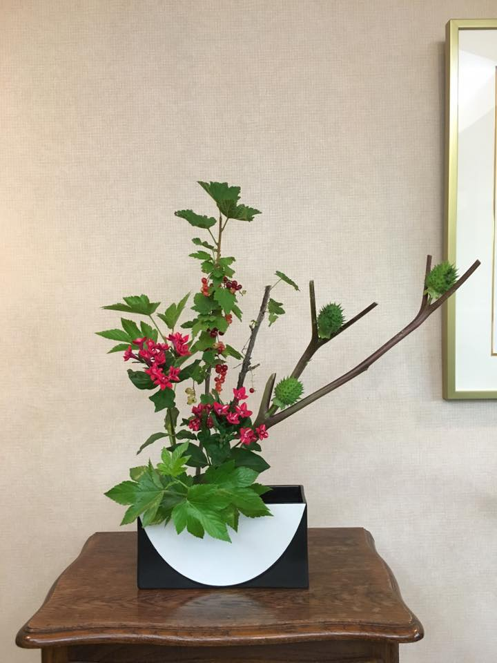 Ikebana-Ikenobo-free style #2