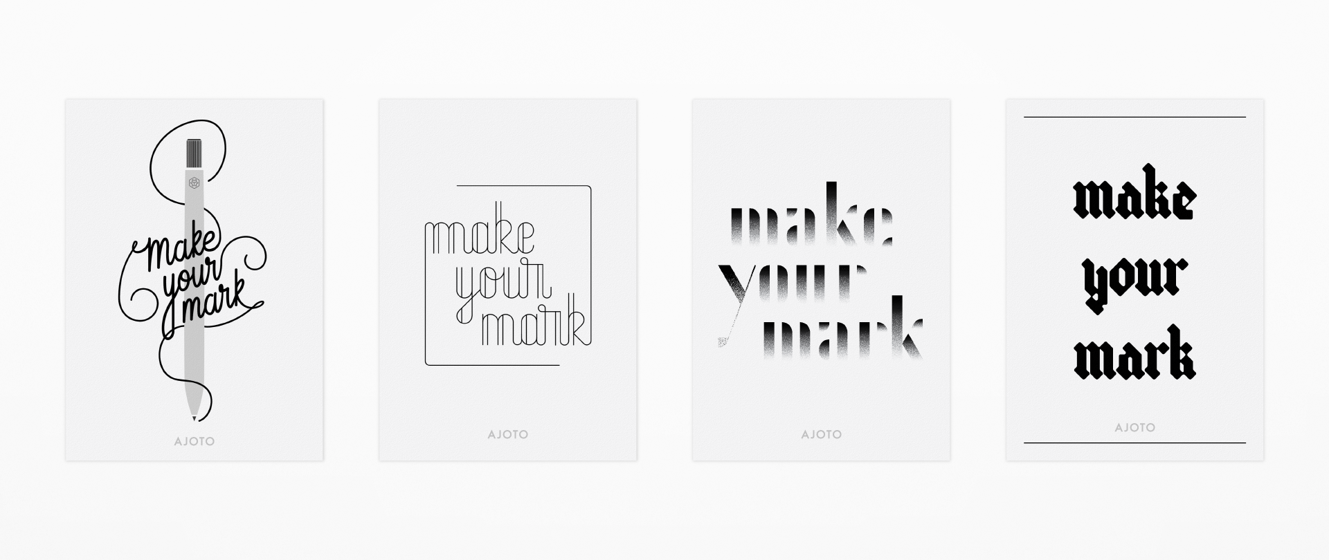 Make Your Mark Lettering