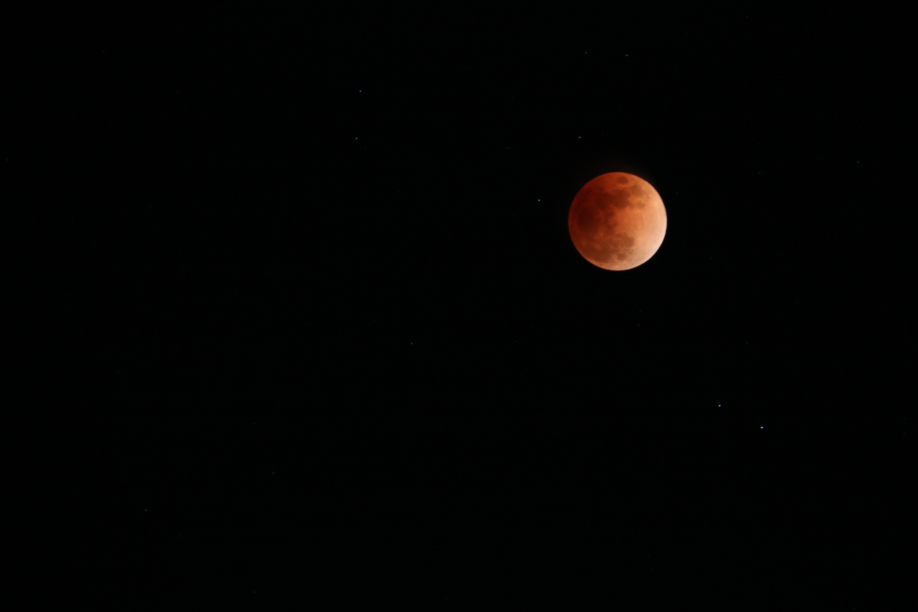 Super Red Blue Moon