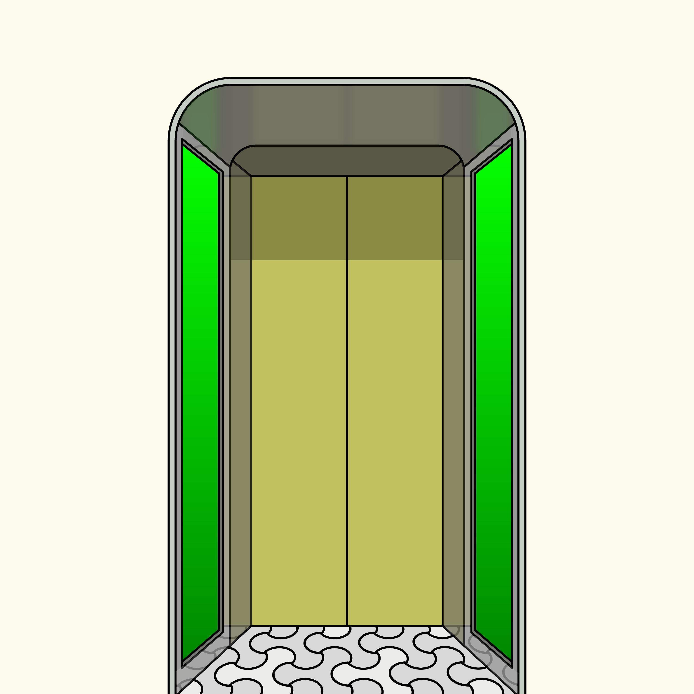 Laforet Elevator Door