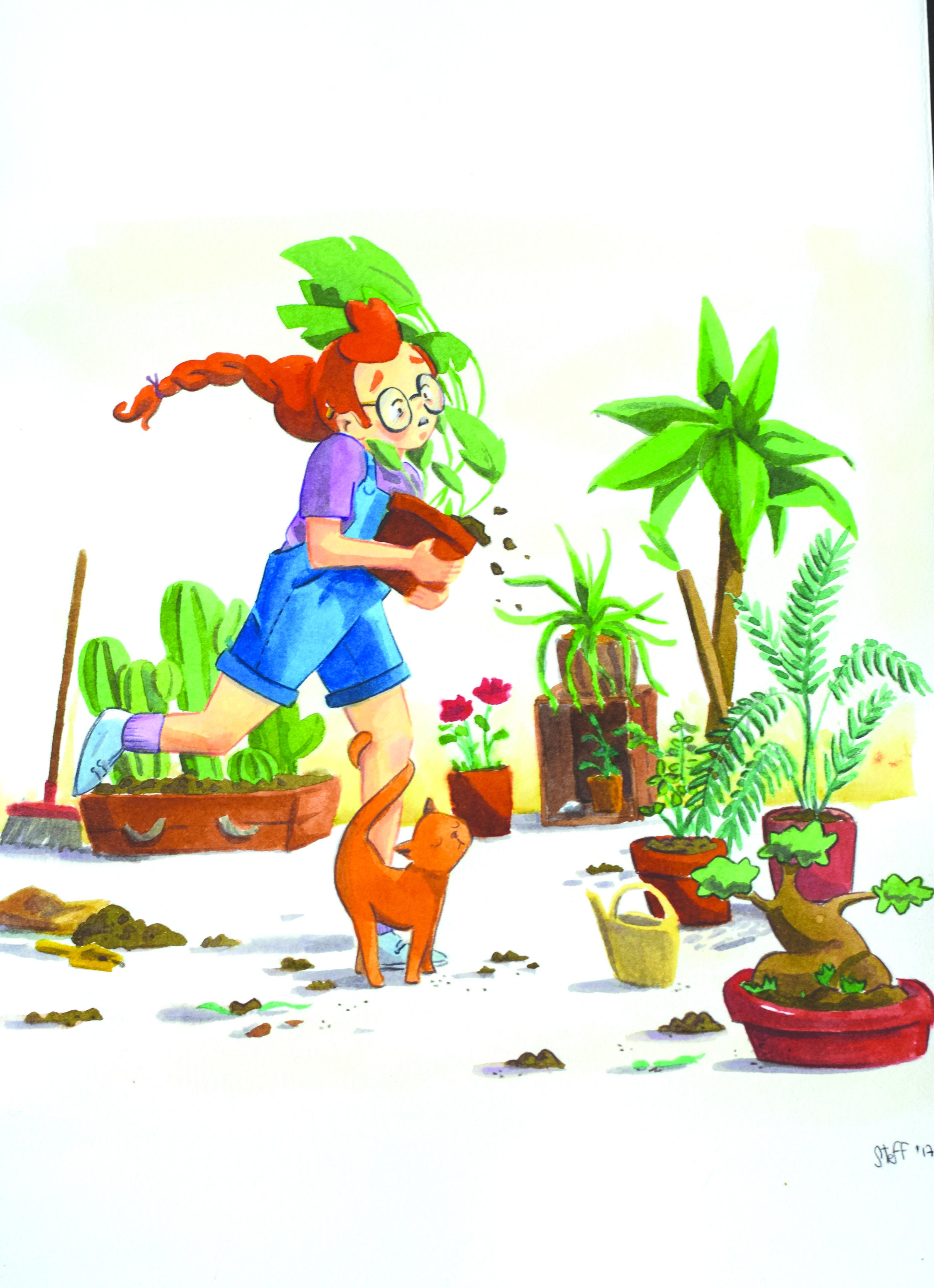 Plants lady