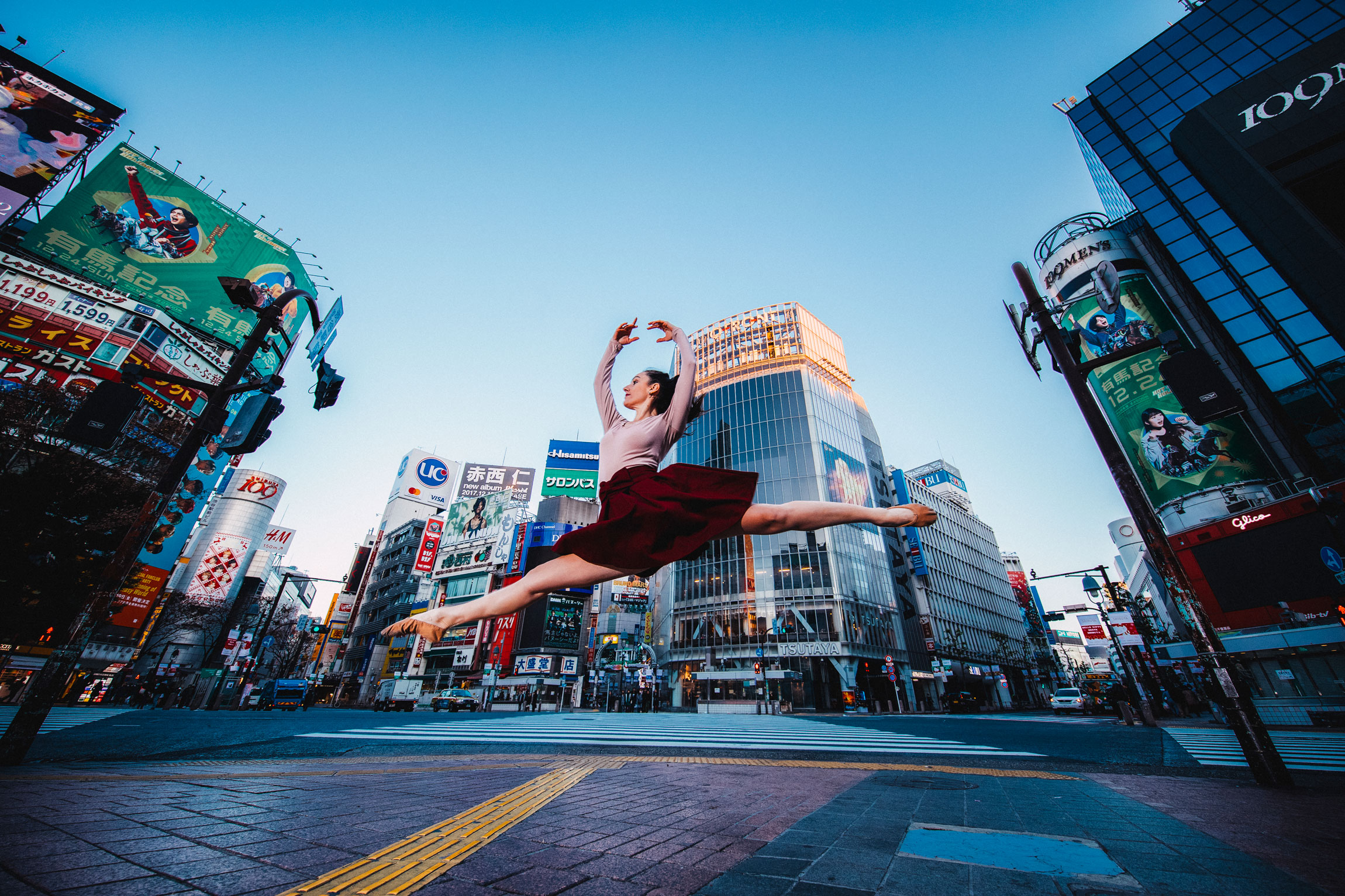 The Dancer of Shibuya Crossing