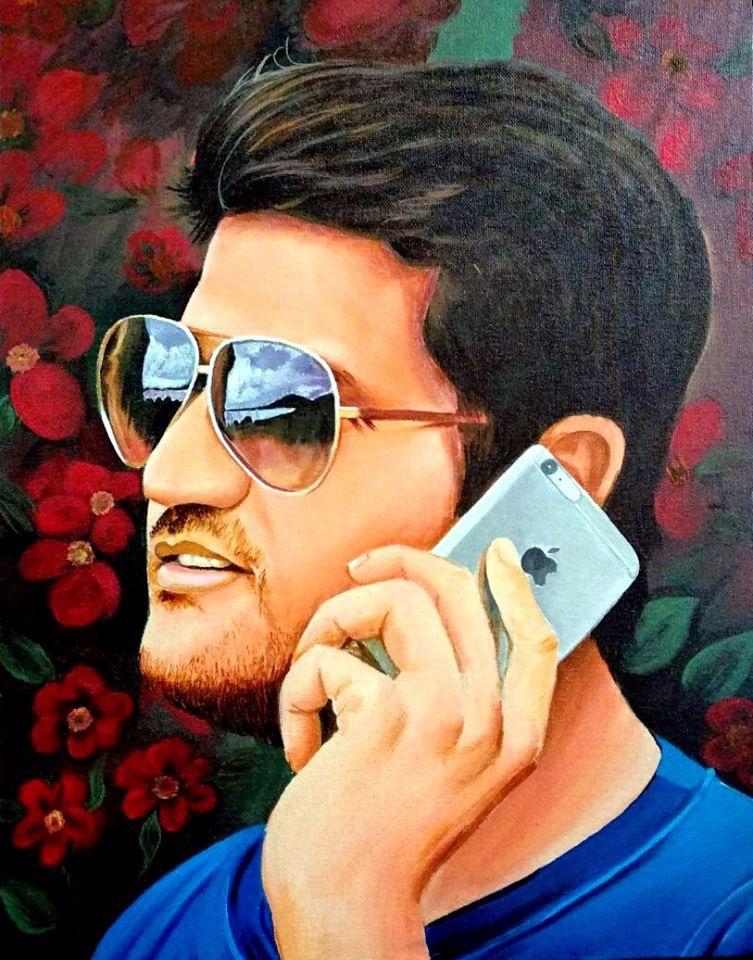 Portrait of India client