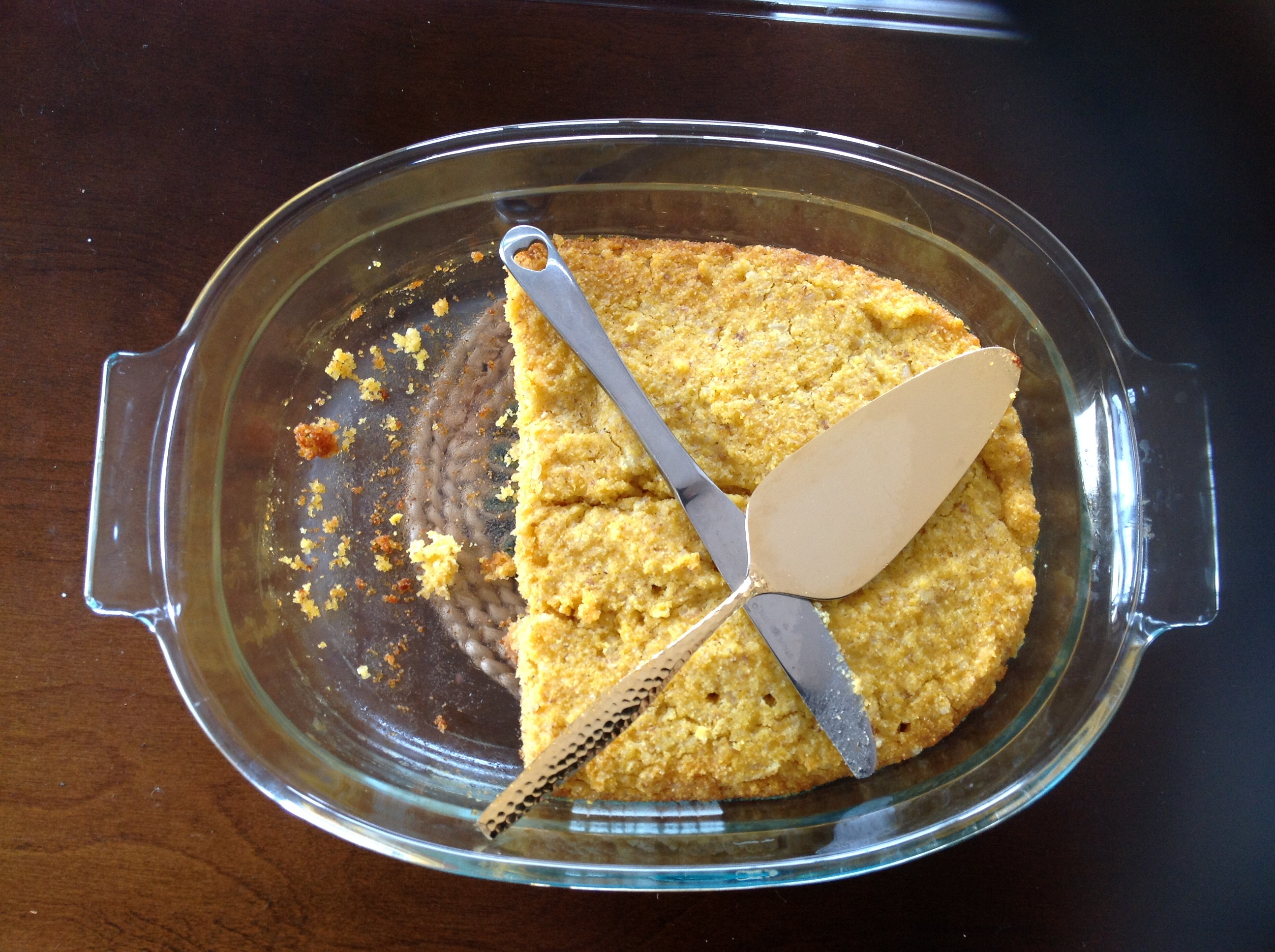 Golden Amazake Cornbread