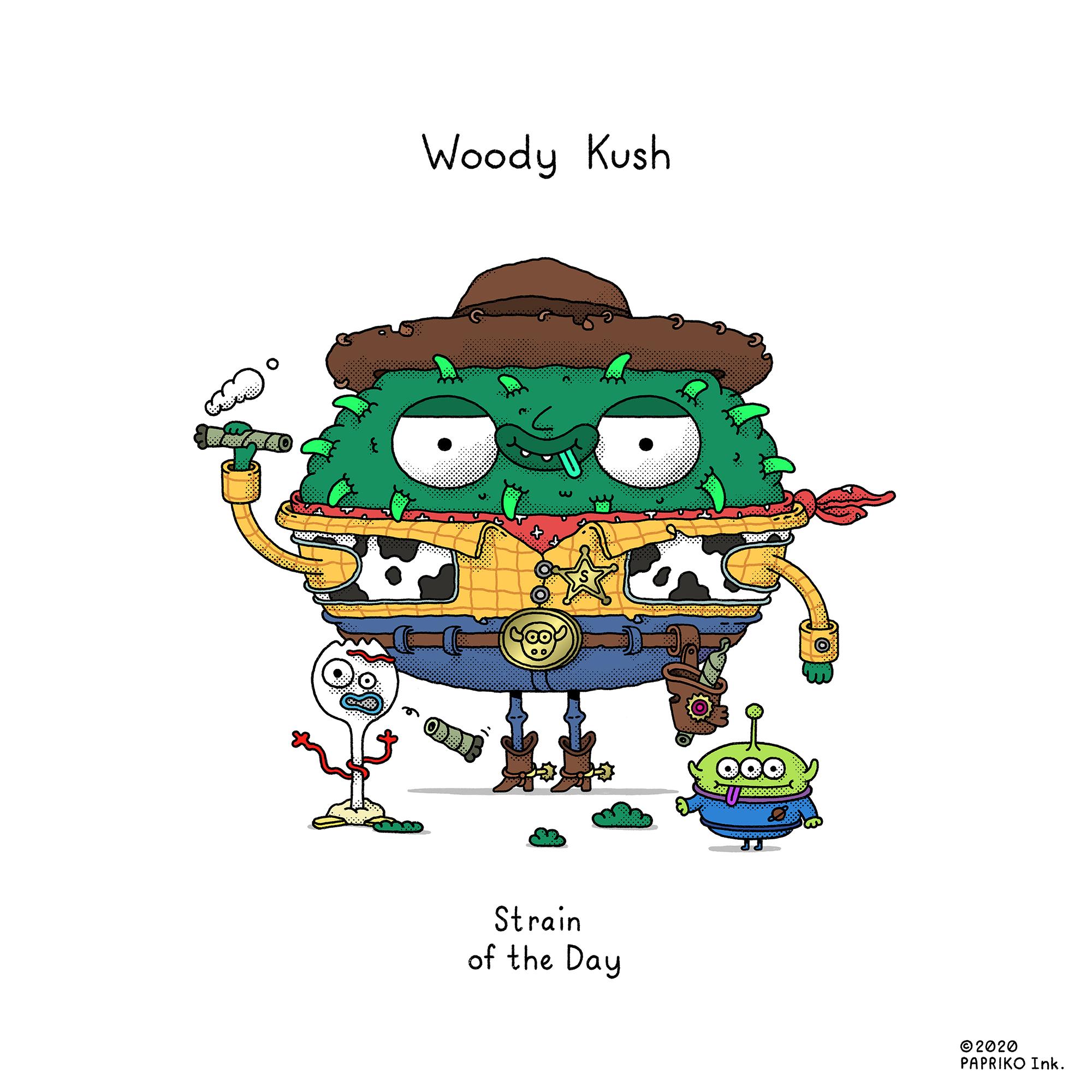 'Woody Kush' - Strain of the Day