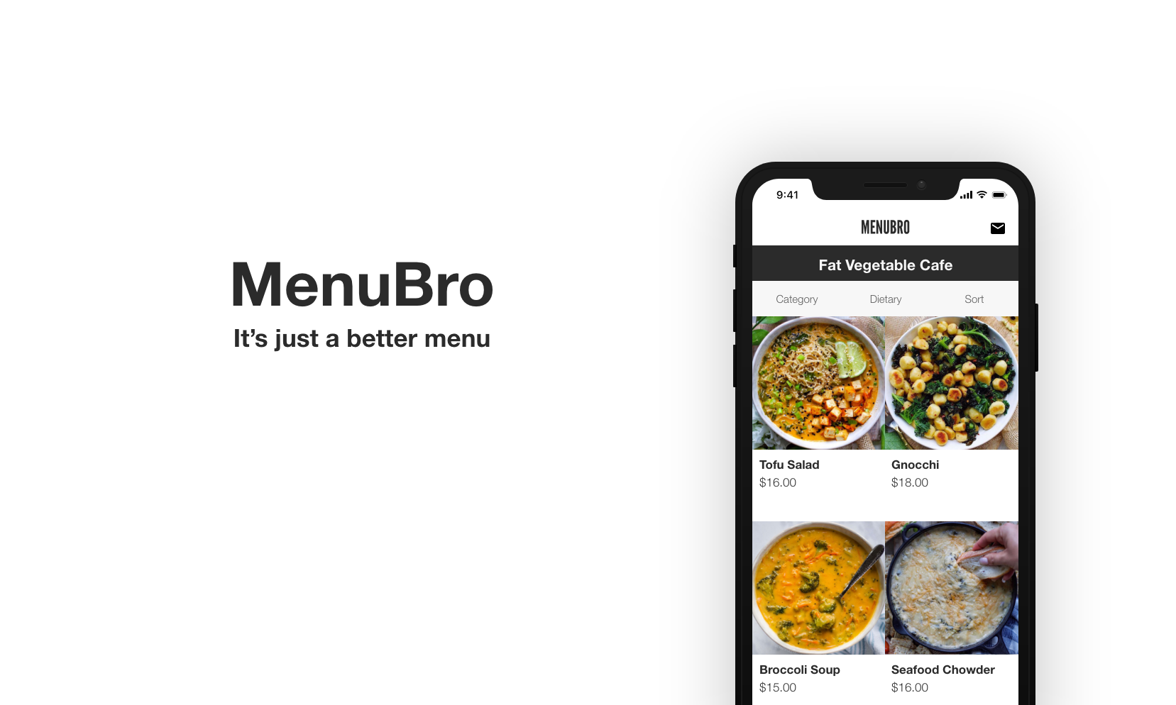 FOHMOH (previously MenuBro) - A Digital Menu Service