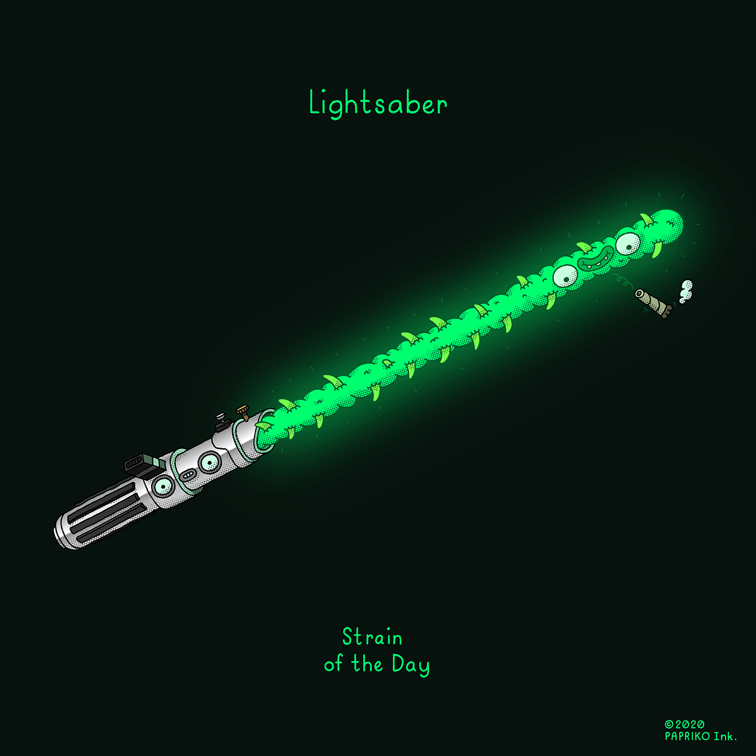 'Lightsaber' - Strain of the Day #201