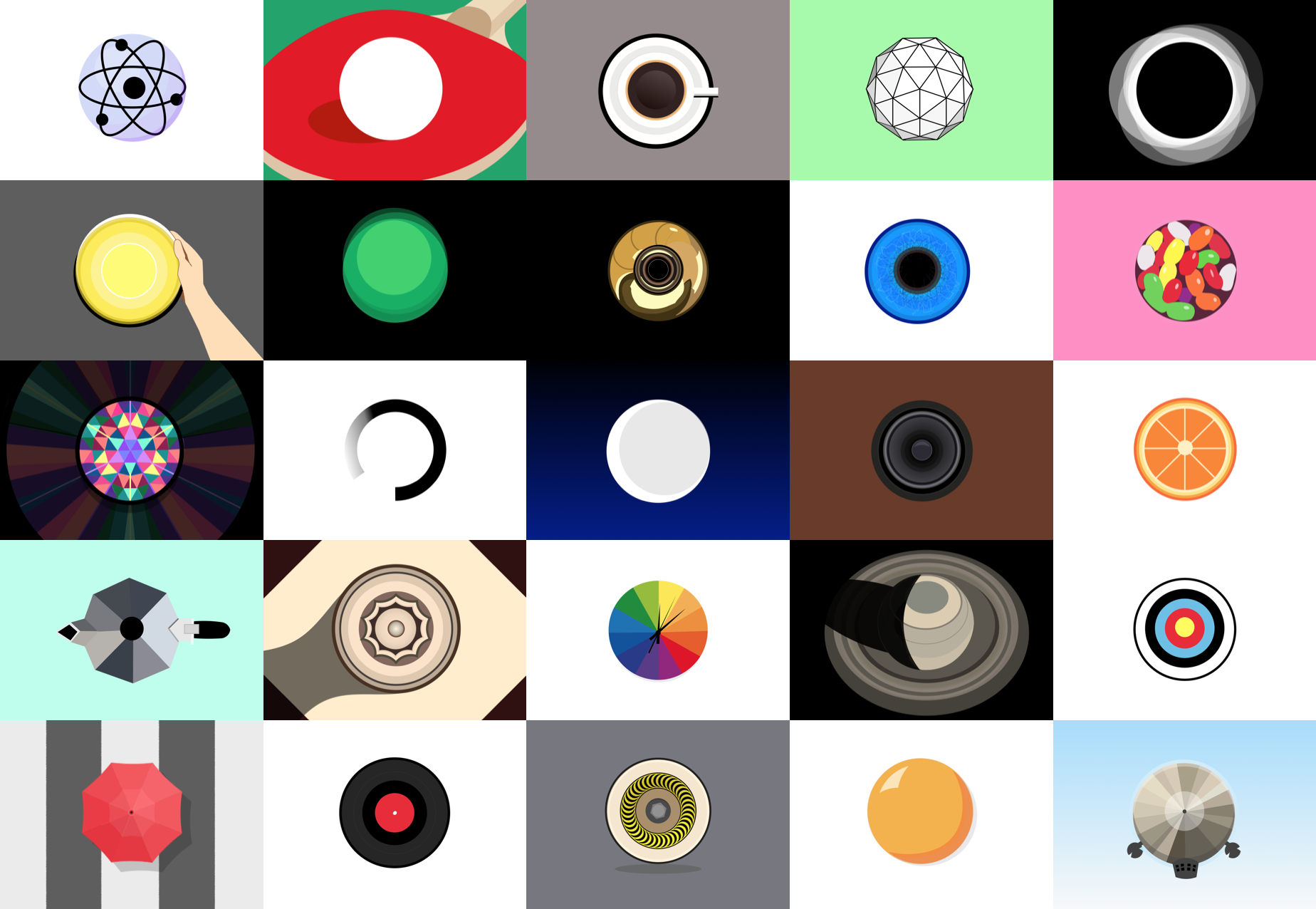 Doing things with shapes