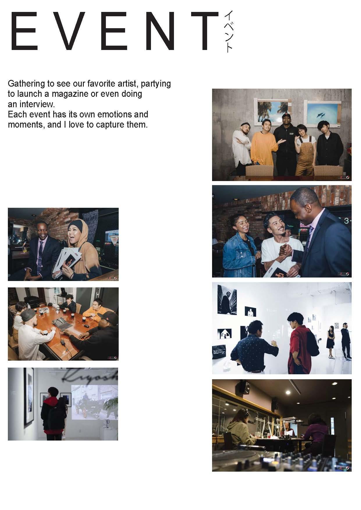 EVENT - Art Exhibition & Magazine Event