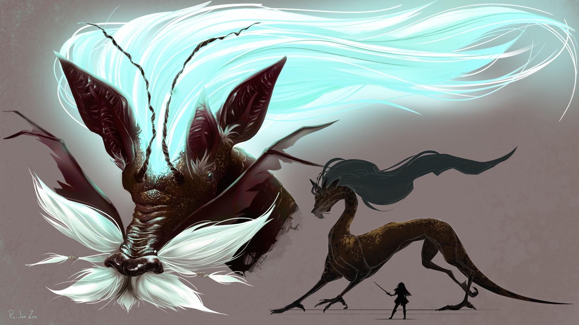 Ancient Ice Dragon
