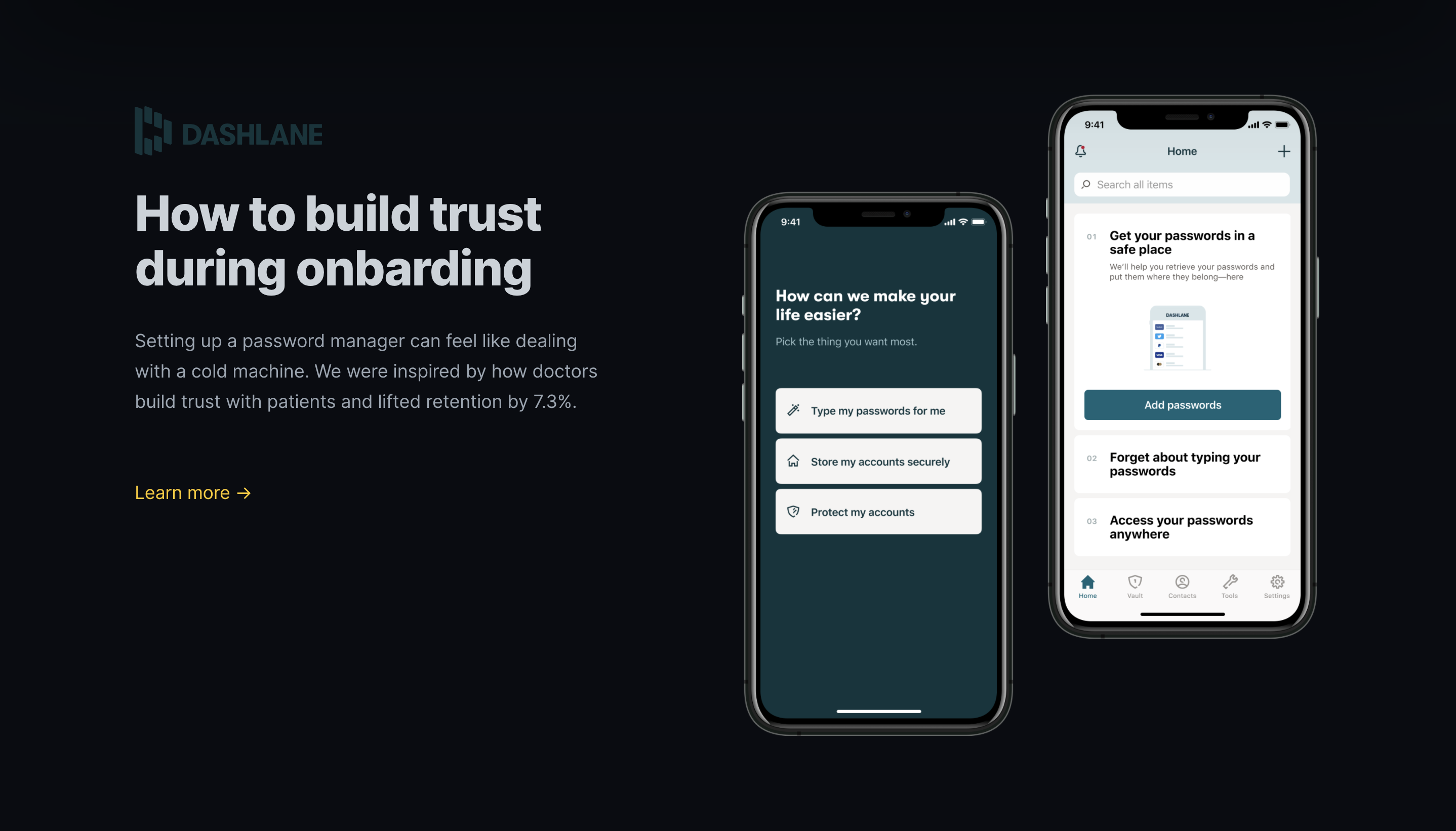 How to build trust during onboarding