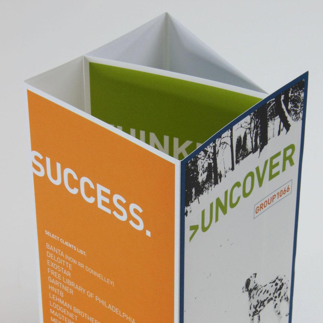 Brochure Design for Group 1066