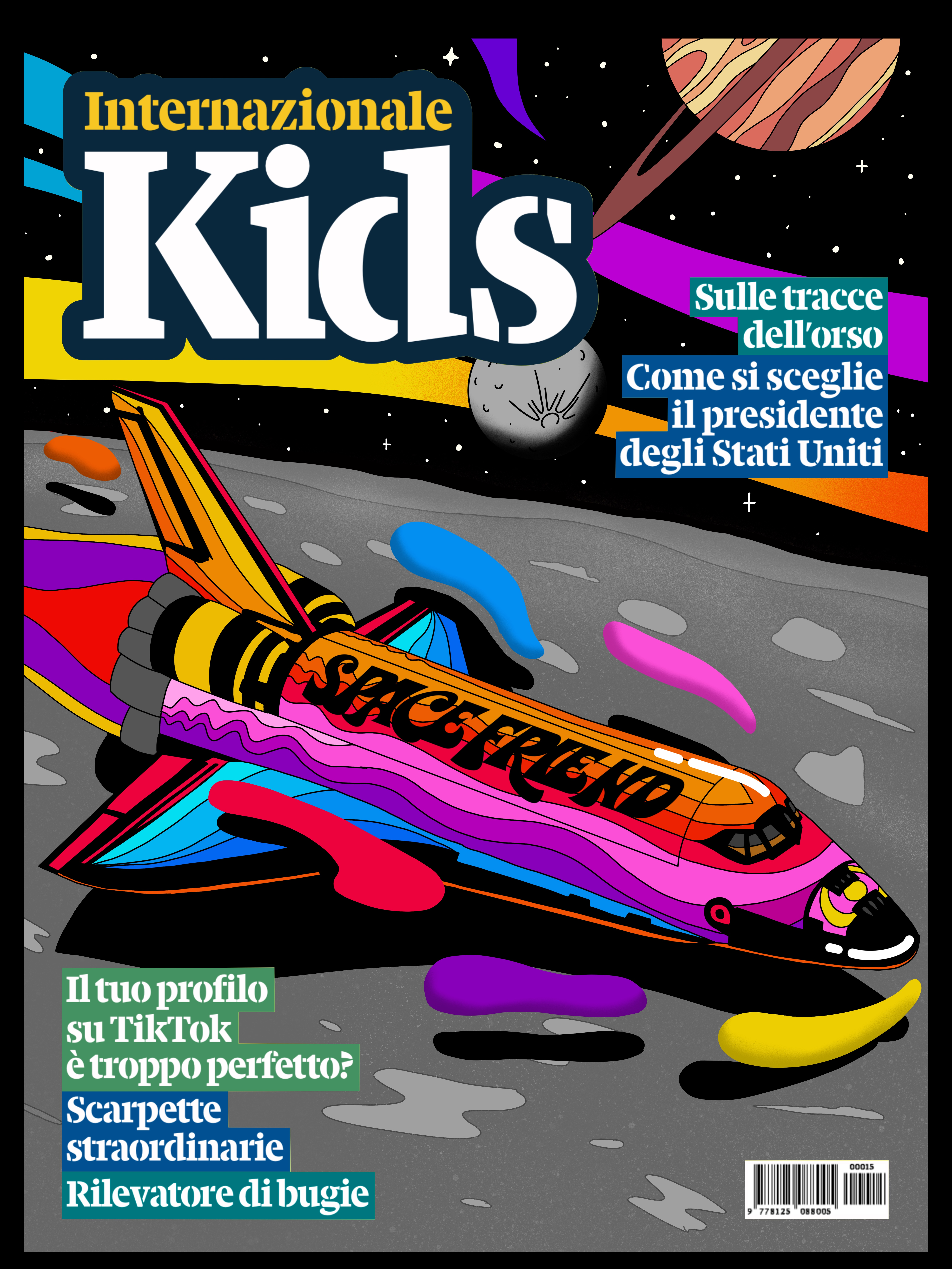 Cover for Internazionale Kids Mag. April 2021