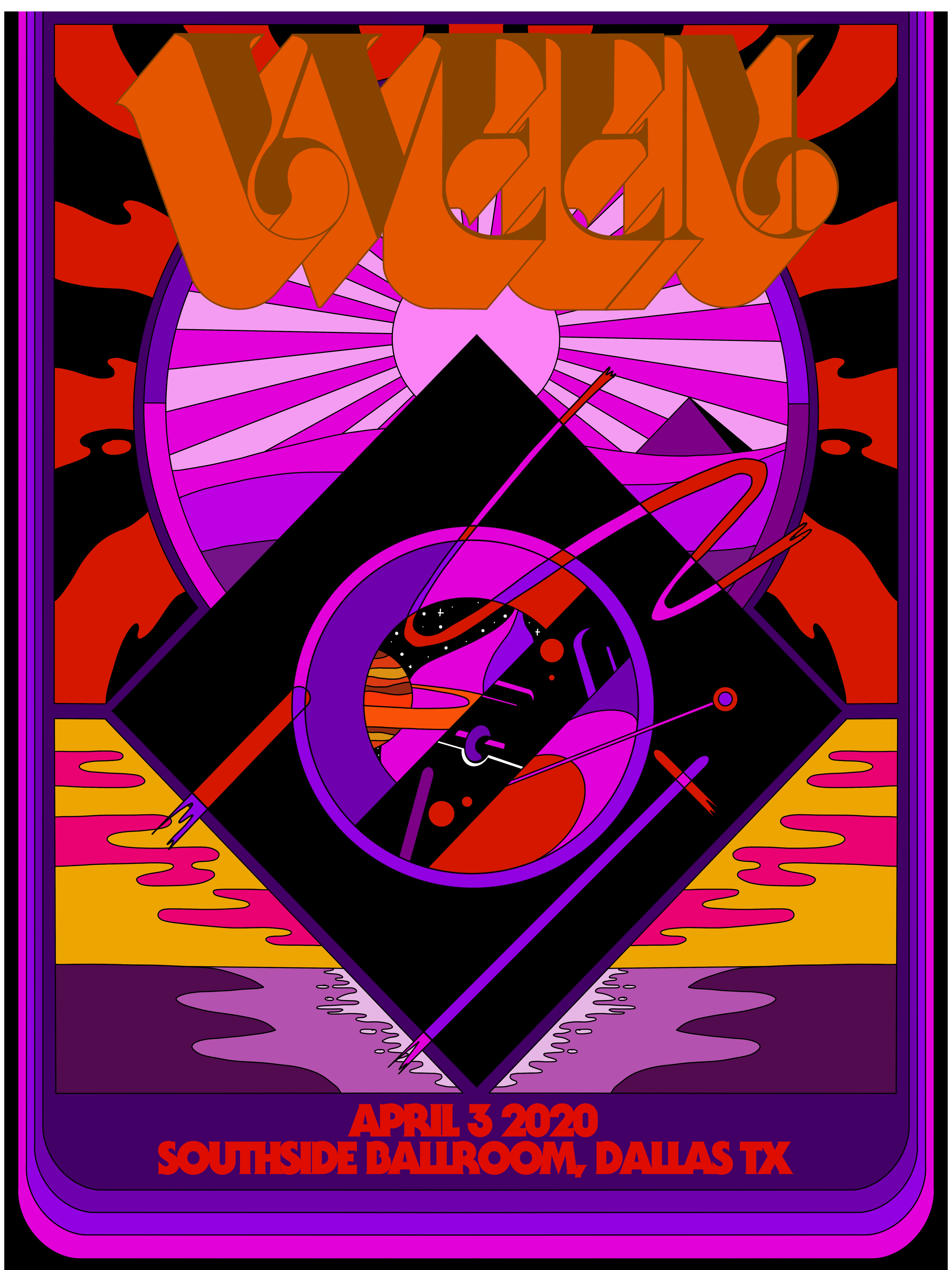 Poster for Ween band