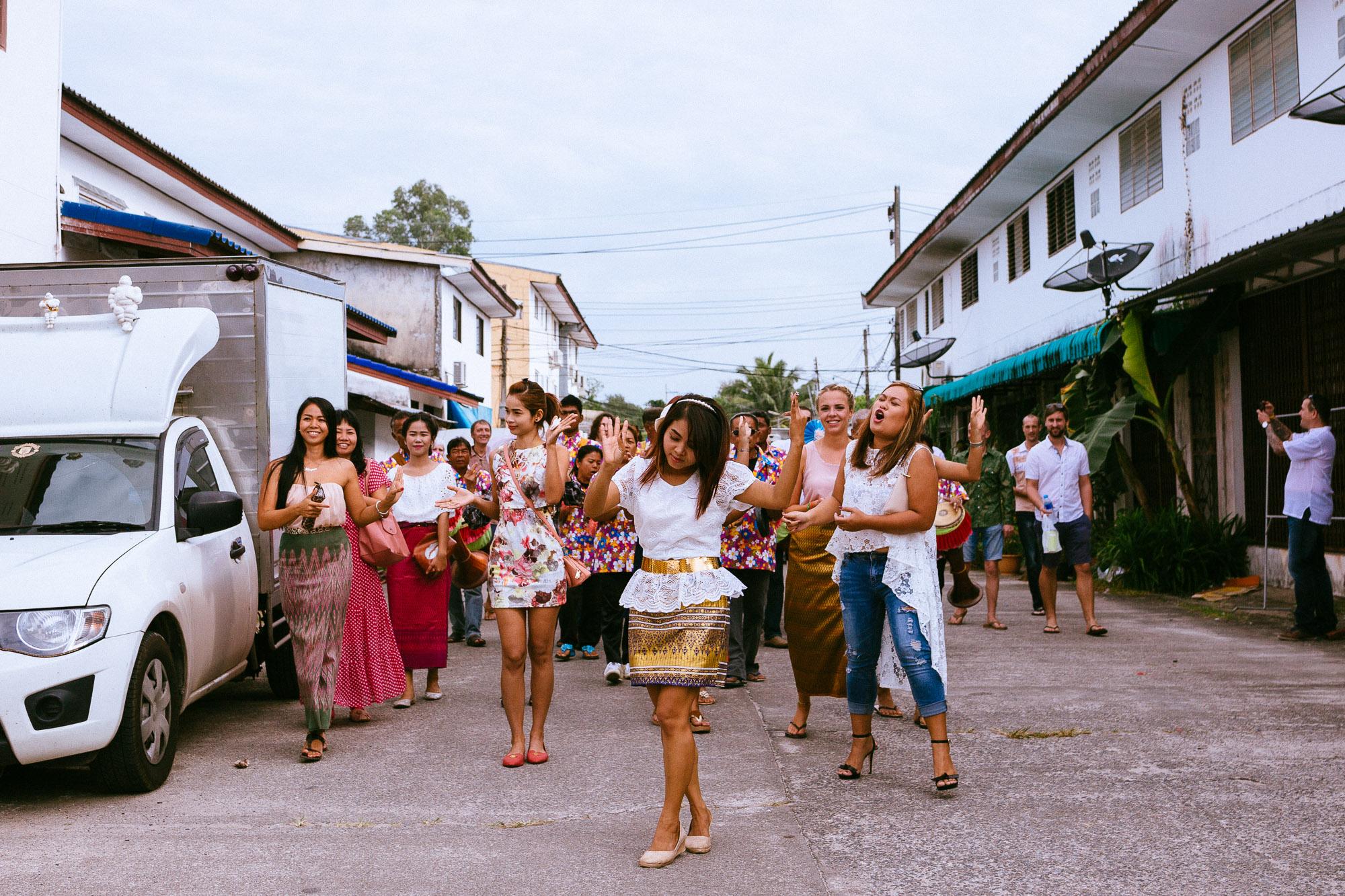 A Rock N Roll Thai Beach Wedding...