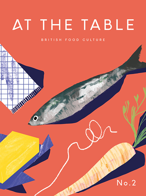 At The Table - Magazine Cover