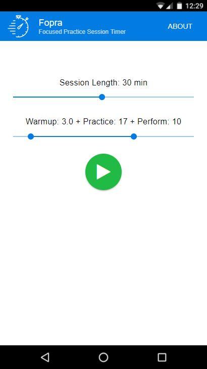 Fopra - Focused Practice