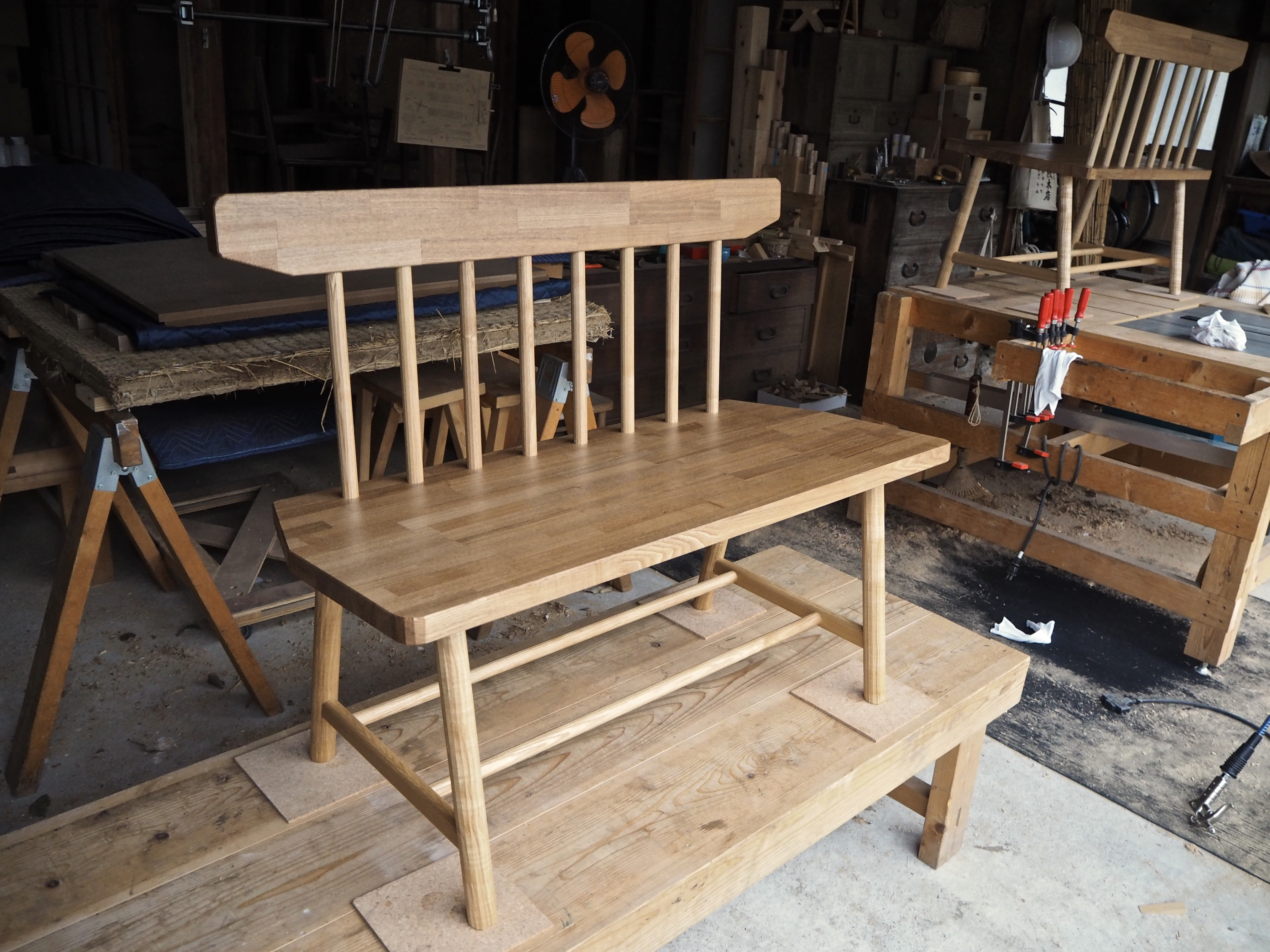 LOCALE twin benches