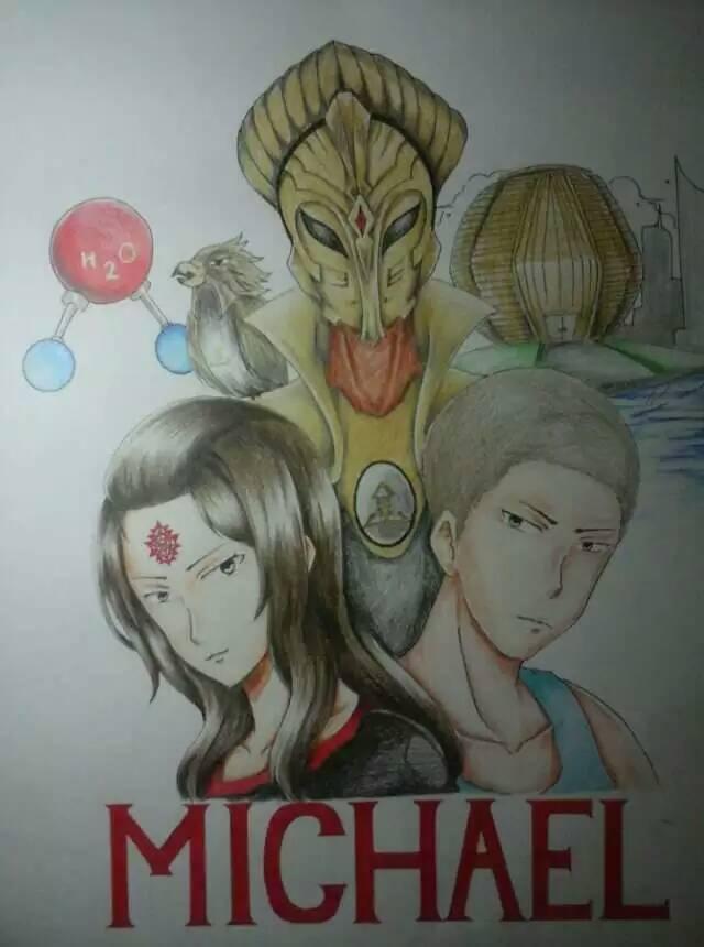 """""""Michael"""" ~ sci-fiアニメ"""