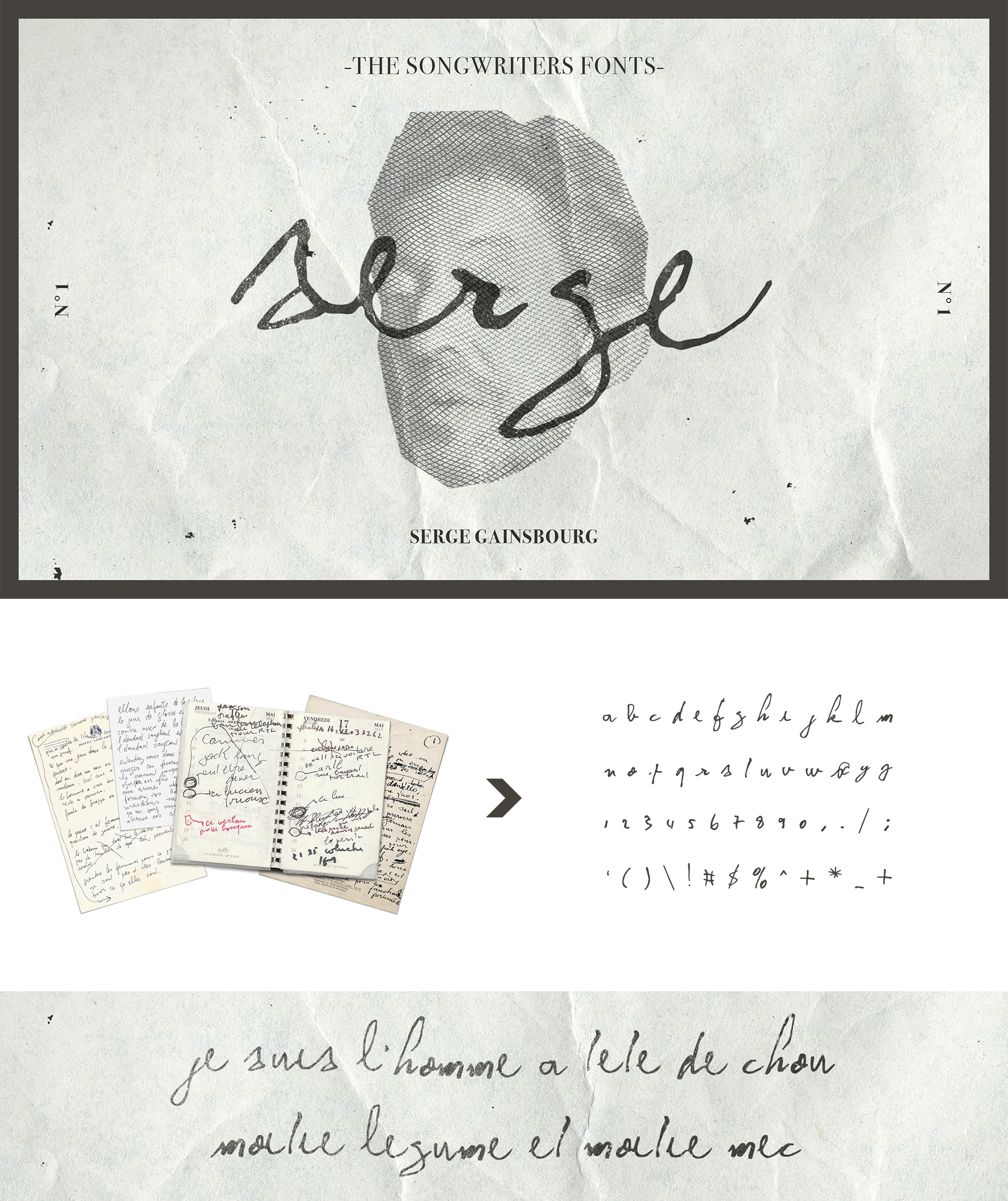 SONGWRITERS FONTS