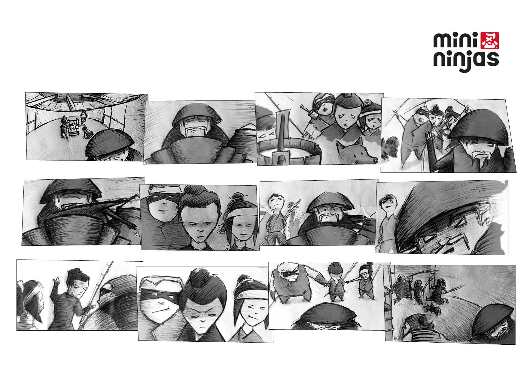 TV Animation Storyboard