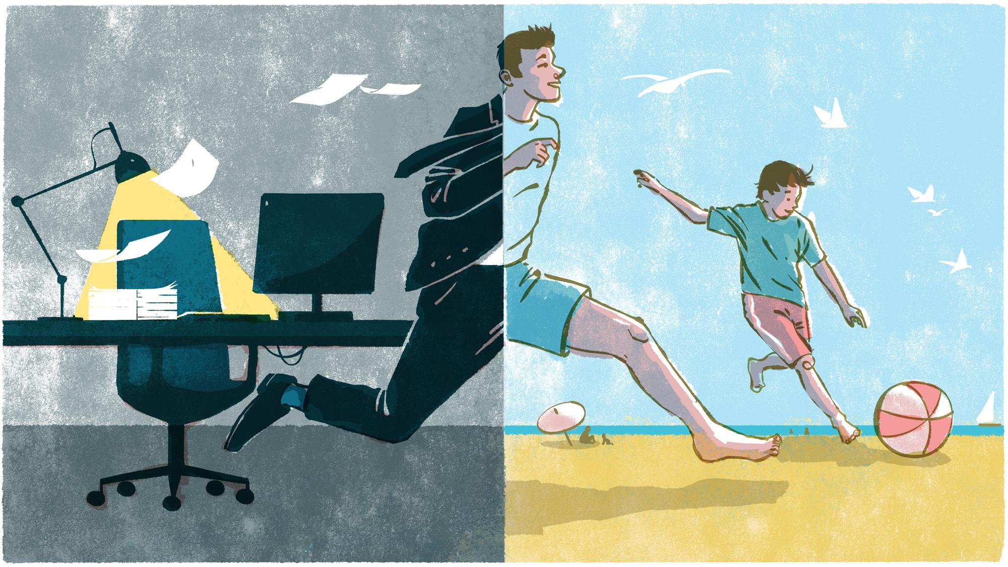 Nikkei Asian Review work-life balance