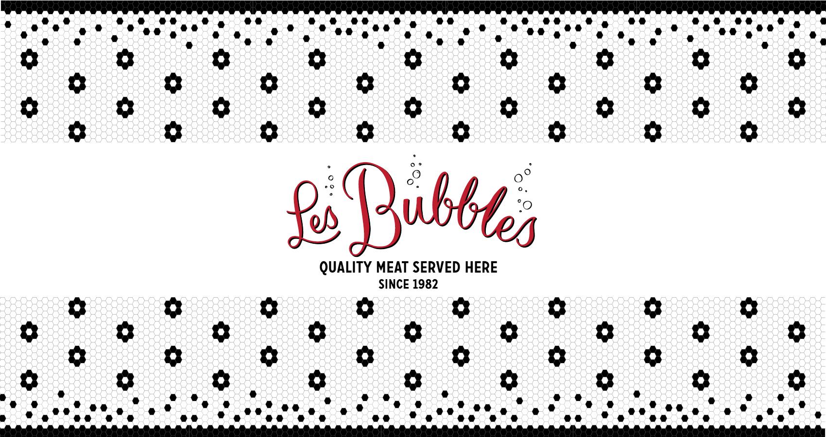 Les Bubbles Branding, Neon & Interior (Australia)