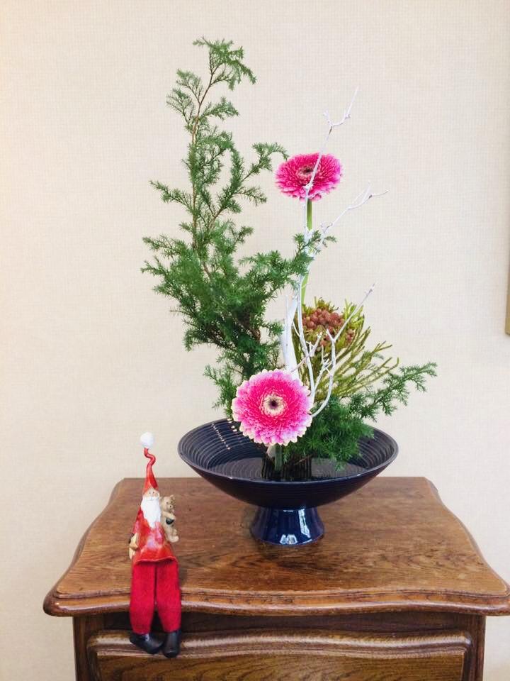 Merry Christmas#ikebana#ikenobo#