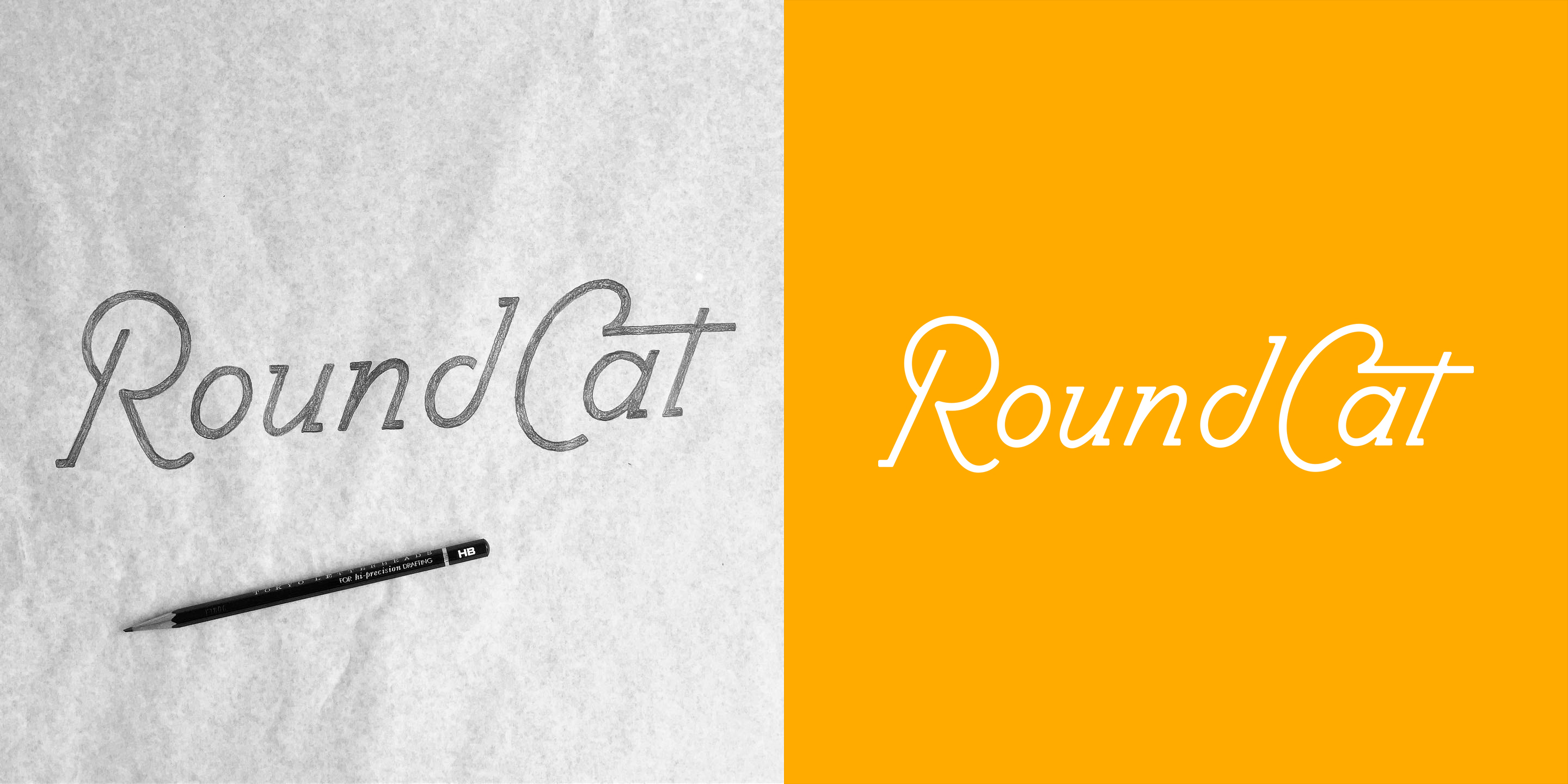 Round Cat word-mark