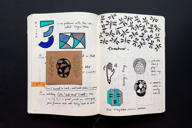 Sketchbooks 2017