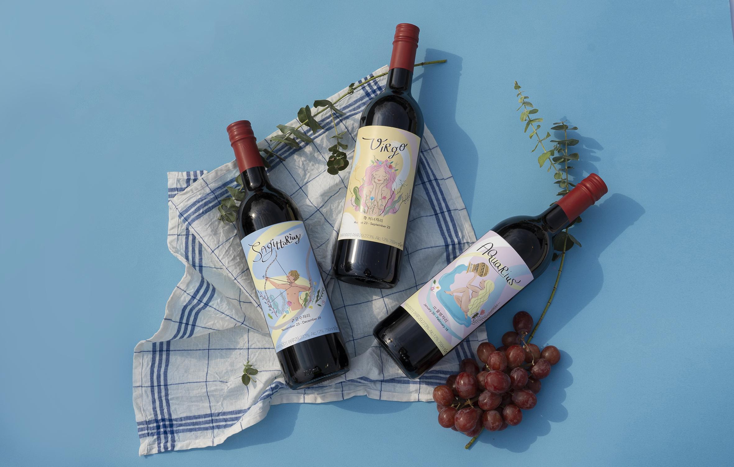 Wine Label illustrations