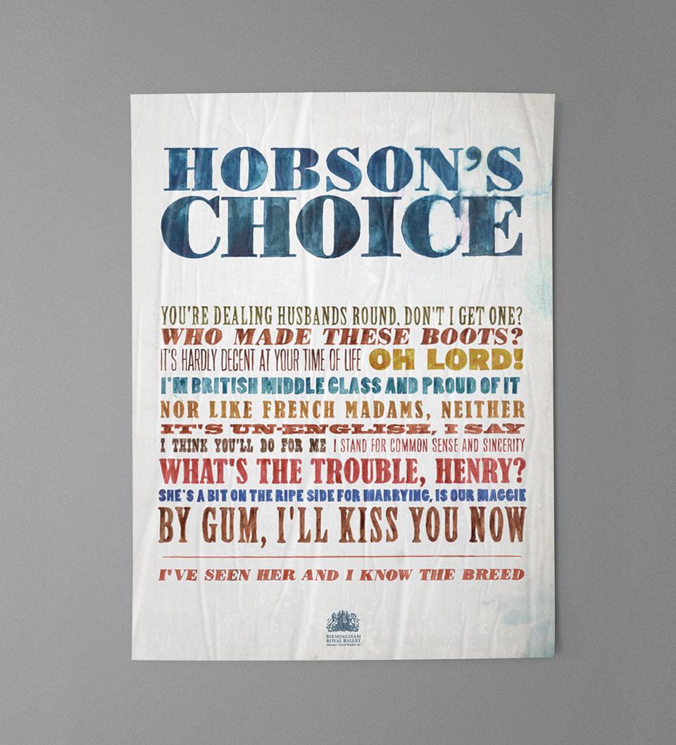 Hobson's Choice, Birmingham Royal Ballet