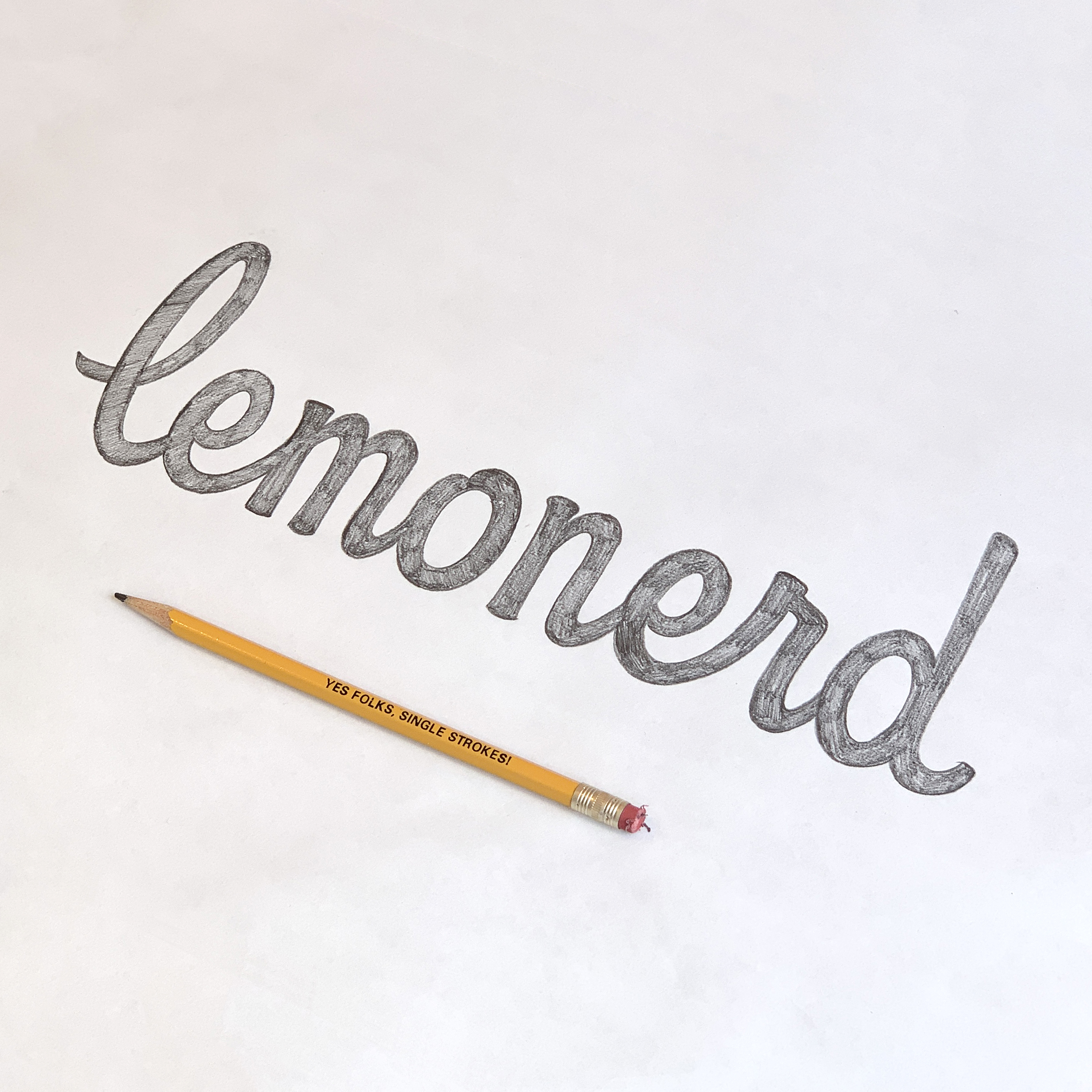 """Lemonerd"" word mark"