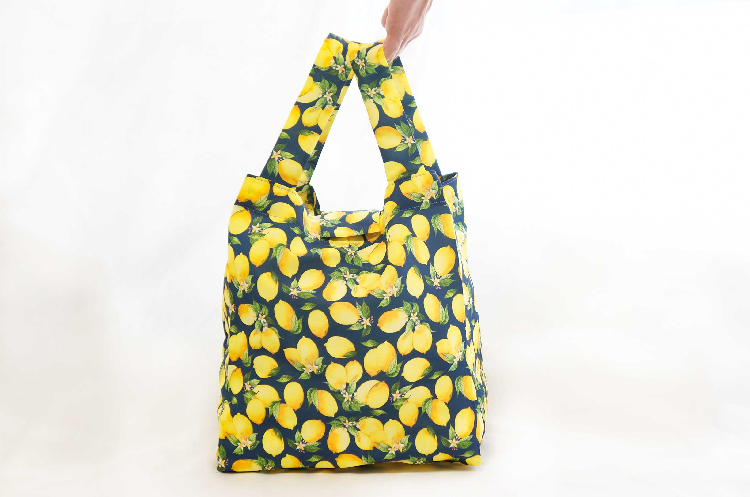 DIY Lemon Eco-Bag (Reusable Shopping Bag)