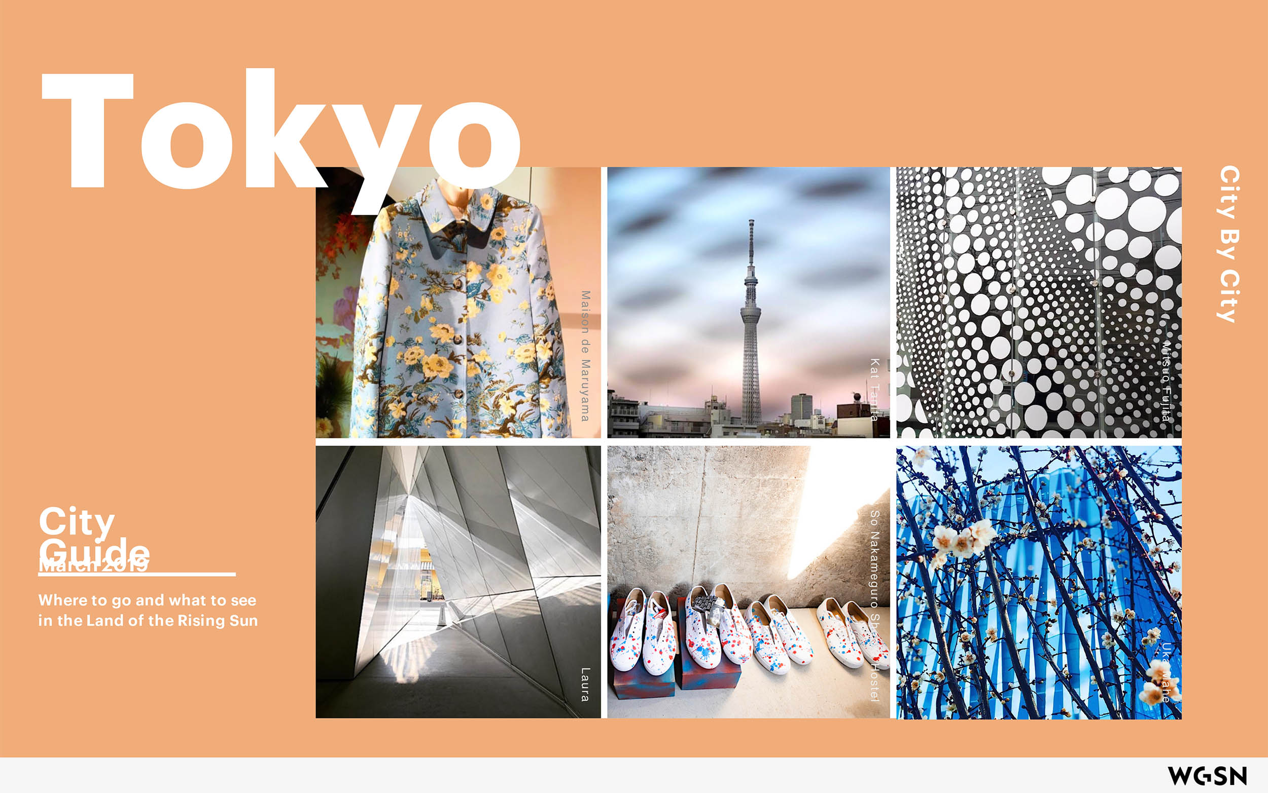 WGSN Tokyo City Guides