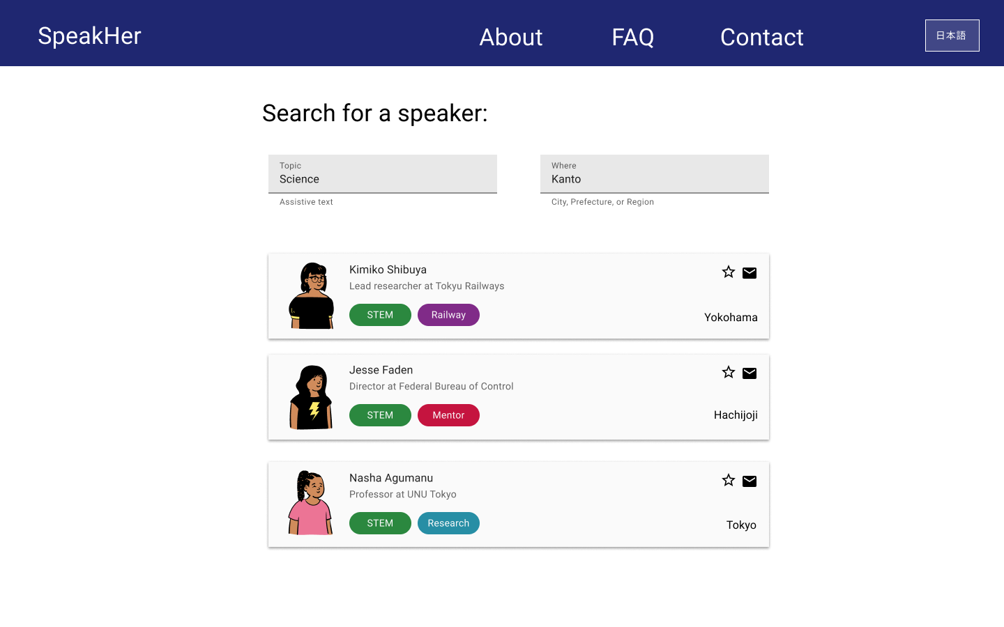 SpeakHer Project